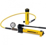 Enerpac SCR-1010H 10 Ton 10.13 in Stroke Hydraulic Cylinder and Hand Pump Set