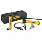 Enerpac SCR-1010TB 10 Ton 10.13 in Stroke Hydraulic Cylinder and Hand Pump Set