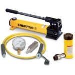 Enerpac SCR-154H 15 Ton 4 in Stroke Hydraulic Cylinder and Hand Pump Set
