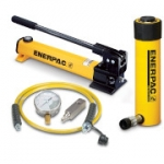 Enerpac SCR-252H 25 Ton 2 in Stroke Hydraulic Cylinder and Hand Pump Set
