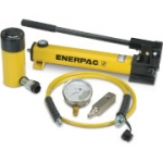 Enerpac SCR-256H 25 Ton 6.25 in Stroke Hydraulic Cylinder and Hand Pump Set