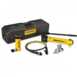 Enerpac SCR-256TB 25 Ton 6.25 in Stroke Hydraulic Cylinder and Hand Pump Set