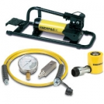 Enerpac SCL-101FP 10 Ton 1.5 in Stroke Low Height Hydraulic Cylinder and Foot Pump Set