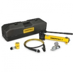 Enerpac SCL-101TB 10 Ton 1.5 in Stroke Low Height Hydraulic Cylinder and Hand Pump Set