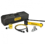 Enerpac SCL-302TB 30 Ton 2.44 in Stroke Low Height Hydraulic Cylinder and Hand Pump Set