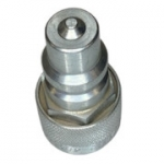 "Pioneer 4080-4, 1/2"", Female Nipple, Agricultural Quick Coupling Adapter to Convert Male Tip Styles on Tractor Connections"