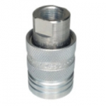 "Pioneer 4250-3P, 3/8"" Female Coupler, 3/8-18 NPTF, 6 GPM, 3,000 PSI, Push to Connect Quick Coupler, ISO 5675"