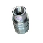"Pioneer 4250-4, 1/2"" Female Coupler, 1/2-14 NPTF, 12 GPM, 3,000 PSI, Push to Connect Quick Coupler, ISO 5675"