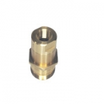 "Parker 6115-08, 3/4"", Female Nipple, 1/2-14 NPTF, 12GPM, 3,000 PSI, Connect Under Pressure"