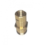"Parker 6115-12, 3/4"", Female Nipple, 3/4-14 NPTF, 28GPM, 3,000 PSI, Connect Under Pressure, 6100 Series"