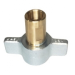 "Parker 6125-12, 3/4"", Female Wingnut Coupler, 3/4-14 NPTF, 28 GPM, 3,000 PSI, Connect Under Pressure, 6100 Series"