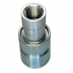 "Parker 8250-4, 1/2"" Connect Under Pressure Quick Coupling, Breakaway Sleeve, Push Connect, Pioneer ISO 5675, 3,000 psi, 8200 Series Coupler"