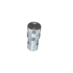 "Stucchi 800804002, 3/8"" Female Coupler, 1/2 SAE, 6 GPM, 4,000 PSI, Firg Series, Flat Face, ISO 16028"