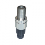 Stucchi 805213001, APM Series, Flat Face Coupler, ISO 16028 Interchange, Connect Under Pressure