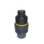 Stucchi 808101011, VEPHD Series, Threaded Flat Face Coupler, Connect Under Pressure