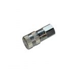"Parker FF-371-8FP, 3/8"", Female Coupler, 1/2-14 NPSF, 6 GPM, 3,000 PSI, Flush Face, ISO 16028, FF Series"