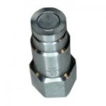"Parker FF-372-8FO, 3/8"", Female Nipple, 3/4-16 SAE, 6 GPM, 3,000 PSI, Flush Face, ISO 16028, FF Series"