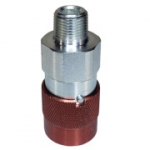 "Parker FH-371-6MP, 3/8"", Male Coupler, 3/8-18 NPTF, 6 GPM, 10,000 PSI, ISO 16028, High Pressure, Push to Connect, Flush Face"