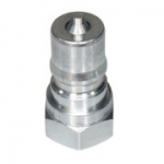 "Parker H2-63, 1/4"", Female Nipple, 1/4-18 NPTF, 3 GPM, 5,000 PSI, ISO 7241, General Purpose, 60 Series"