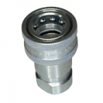"Parker H4-62, 1/2"", Female Coupler, 1/2-14 NPTF, 12 GPM, 4,000 PSI, ISO 7241, General Purpose, 60 Series"