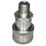 "Pioneer 3050-2, 1/4"", Male Coupler, 1/4-18 NPTF, 3 GPM, 10,000 PSI"